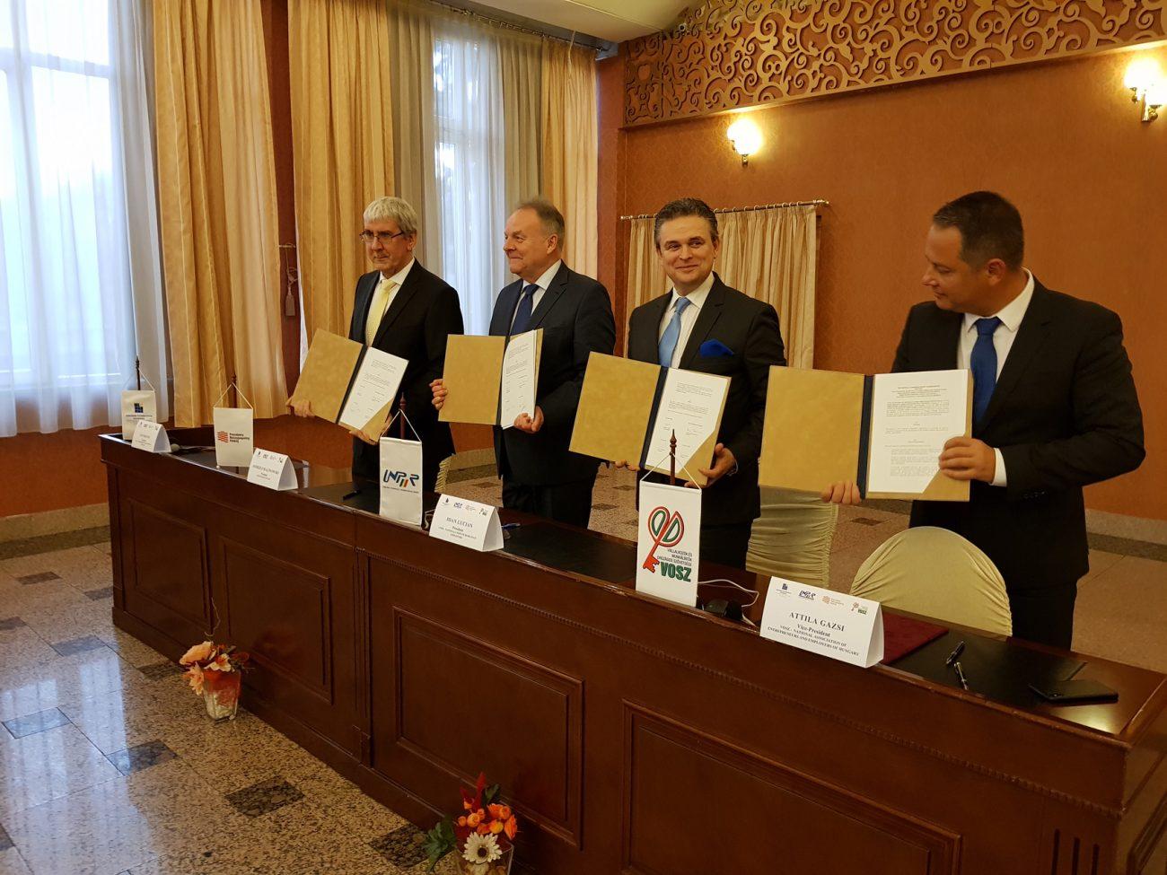 Acord-de-cooperare-semnat-între-patru-confederaţii-patronale-est-europene-Cluj-Napoca